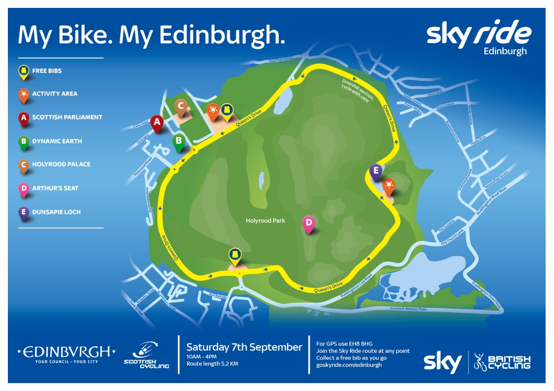 1309 route Sky_Ride_Edinburgh2013