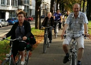 Ghent: Cllr Hinds's first bike ride