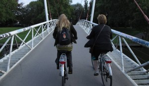 Cycling in Ghent: confidence grows!