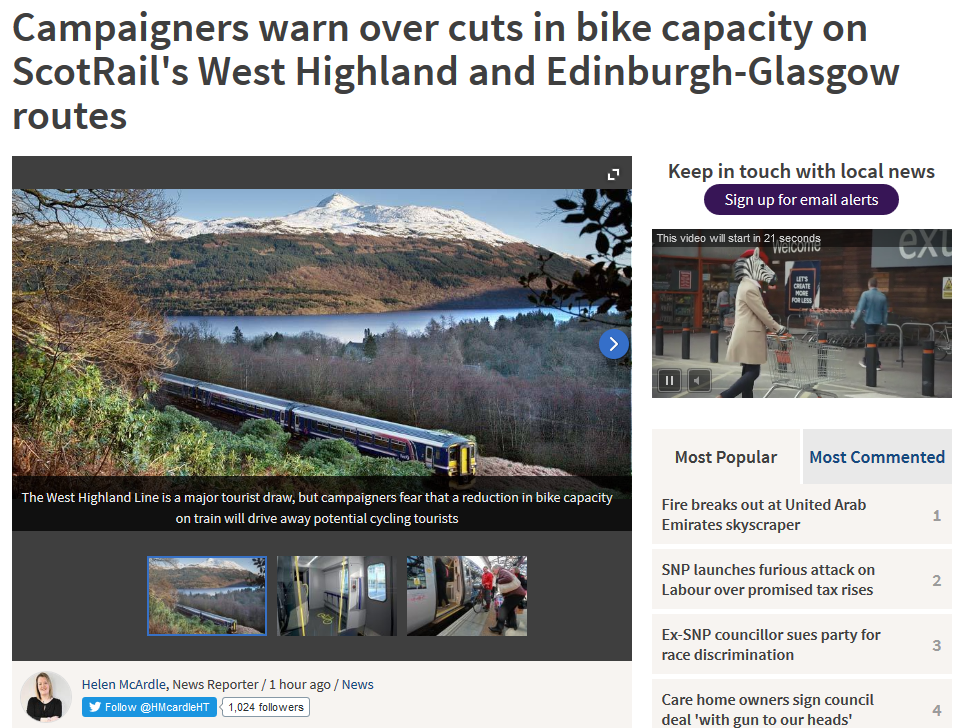 1603 online Herald - Campaigners_warn_that_train_refurbishments_will_slash_space_for_bikes_(From_Herald_Scotland)_-_2016-03-29_11.20.53
