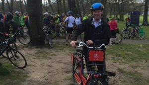 Transport Minister on Abellio Bike 'n Go
