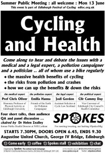poster v4 cycling and health